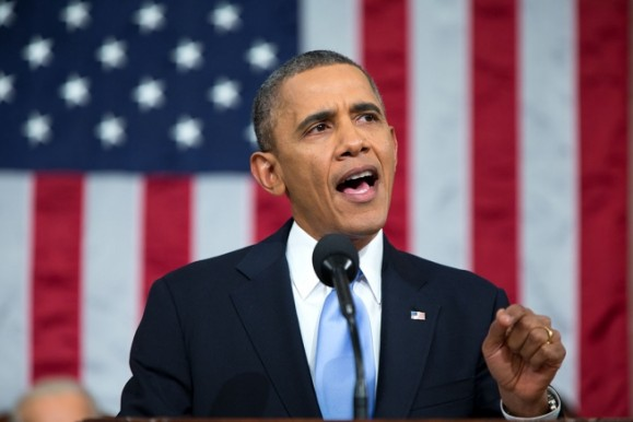 Obama taler i Kongressen (foto: Pete Souza, whitehouse.gov).