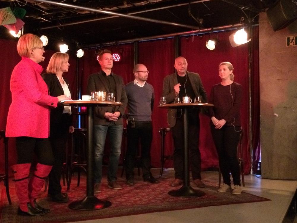 CICEP forskere Guri Bang, Steffen Kalbakken og Solveig Aamodt var blant innlederne da boka ble presentert på frokostmøtet