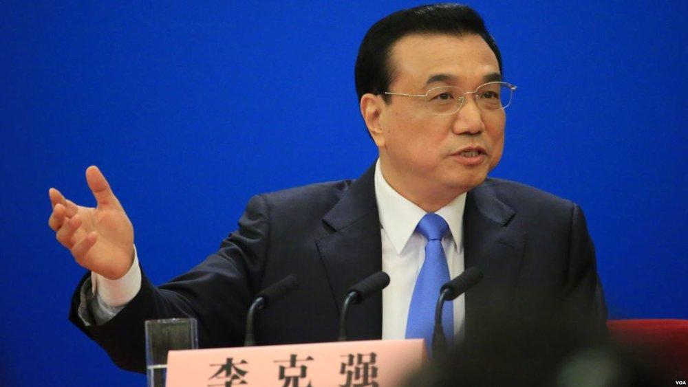 Statsminister Li Keqiang sier at Kina står fast ved Paris-avtalen og at de ønsker å samarbeide med alle for å takle klimaendringer (Foto: Voice of America /creative commons)