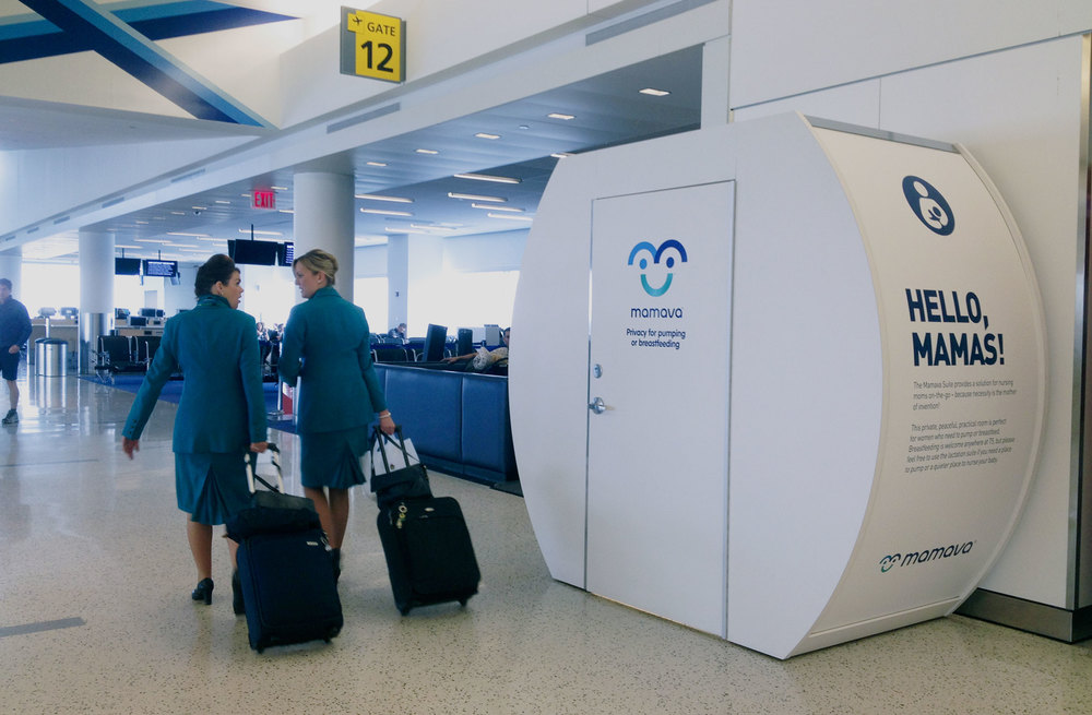 Design solutions for nursing mamas on the go    See All Mamava Pods