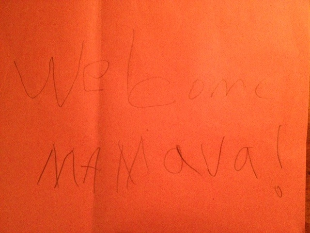 Welcome Mamava Letter