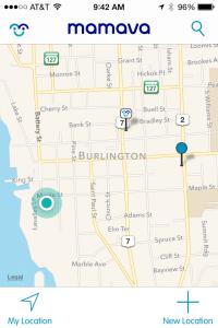 Mamava HQ on Map