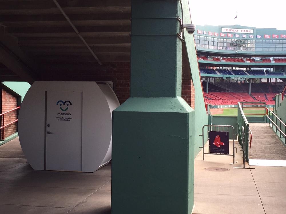 Mamava Suite towards right field!