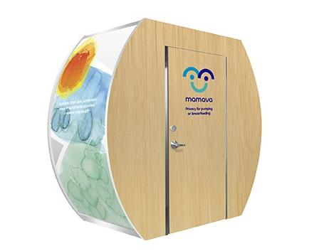 Mamava Lactation Suite Sunscape w/ Maple