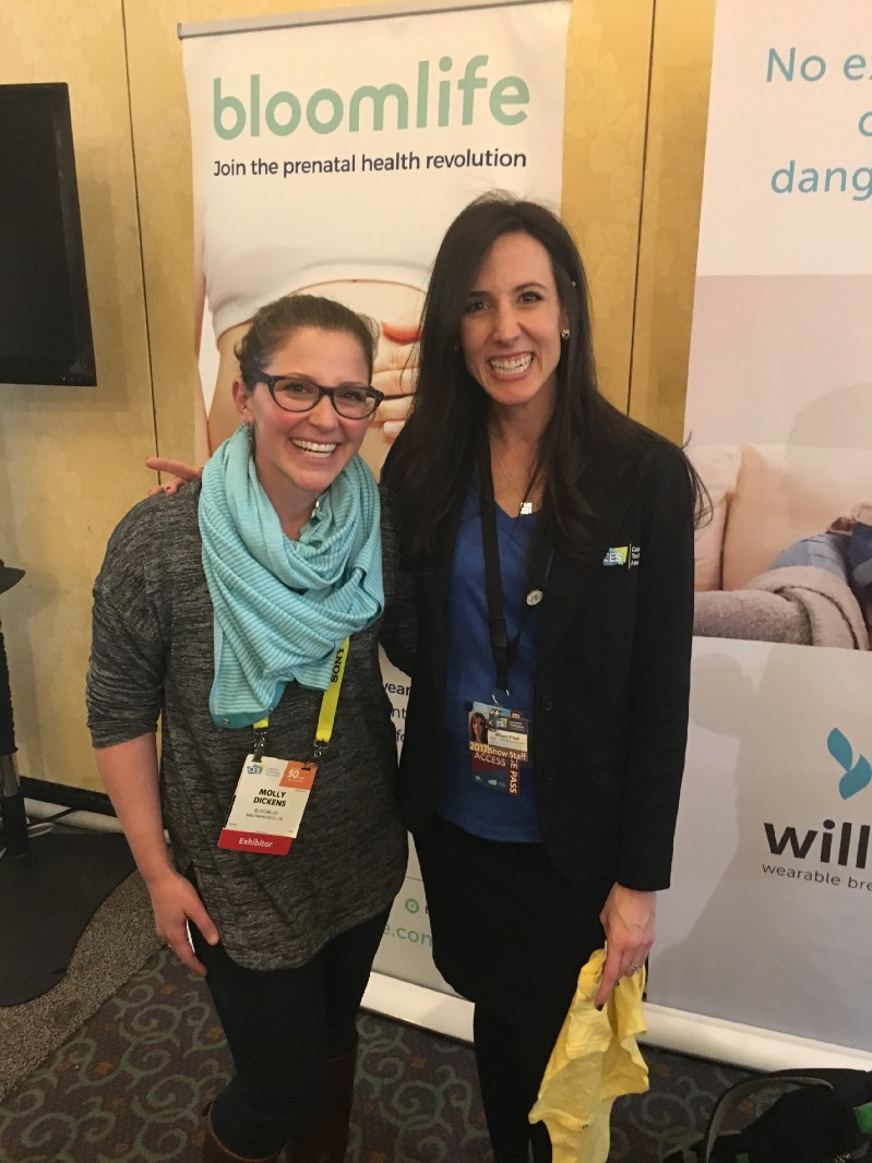 A big thanks for Allison for helping to make the male-dominated CES a woman friendly place.