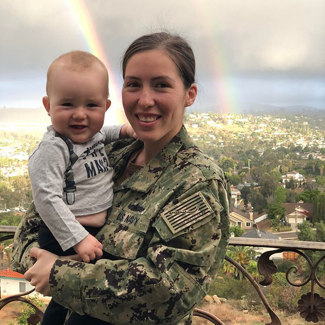 """The transition to motherhood is often depicted as joyous—and rightfully so. But postpartum depression and anxiety are a reality for many women and, for @gabycavins, an officer in the U.S. Navy, having a baby was """"like hitting a brick wall."""" Never mind giving birth—what caused the most pain for Gaby was breastfeeding. . Gaby eventually worked through her struggles and even came to love breastfeeding, but it took time and support. Her experience sparked a commitment to support breastfeeding mamas everywhere, particularly those in military families and underprivileged communities. Check out the link in bio to read her top tips for new mamas! 🙌🏽💕 . . . #gomama #normalizebreastfeeding #momlife #uniteinmotherhood #motherhoodinspired #motherhood #militarymom #pumpingmama #mamava #thestruggleisreal #breastfeeding #wbw2018"""