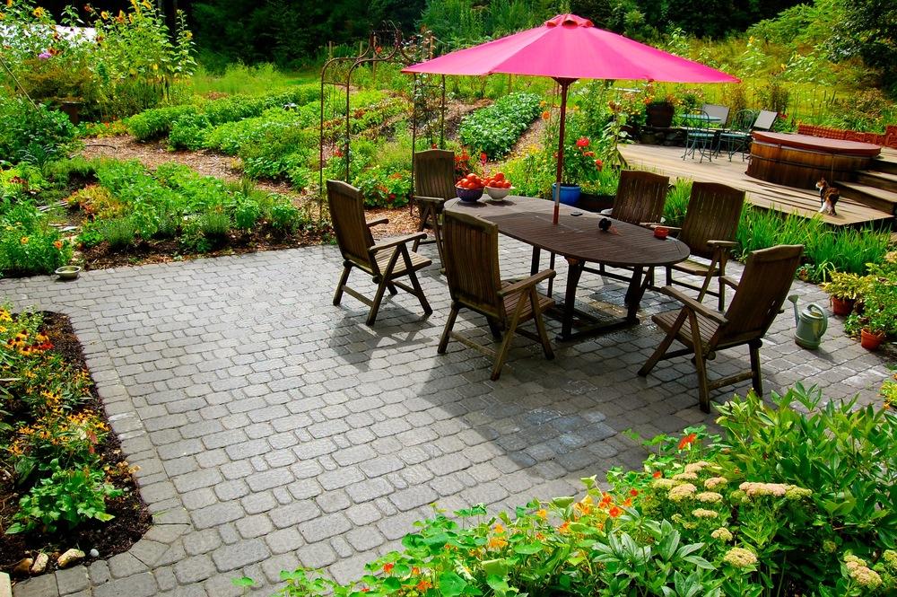 Large Edible Garden