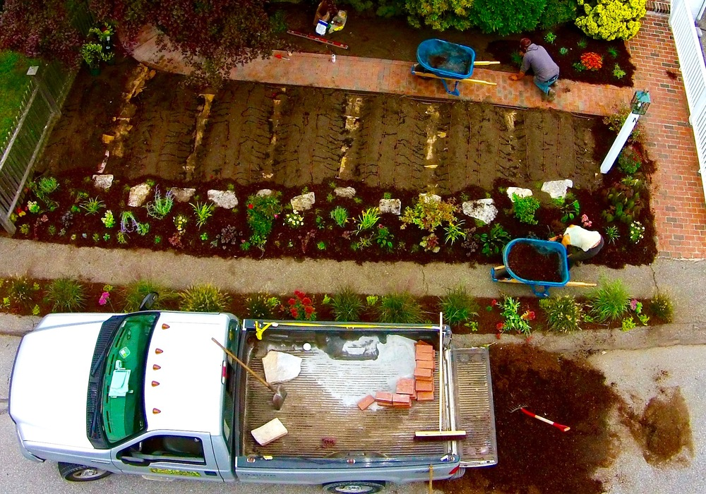 Aerial Installation Photo