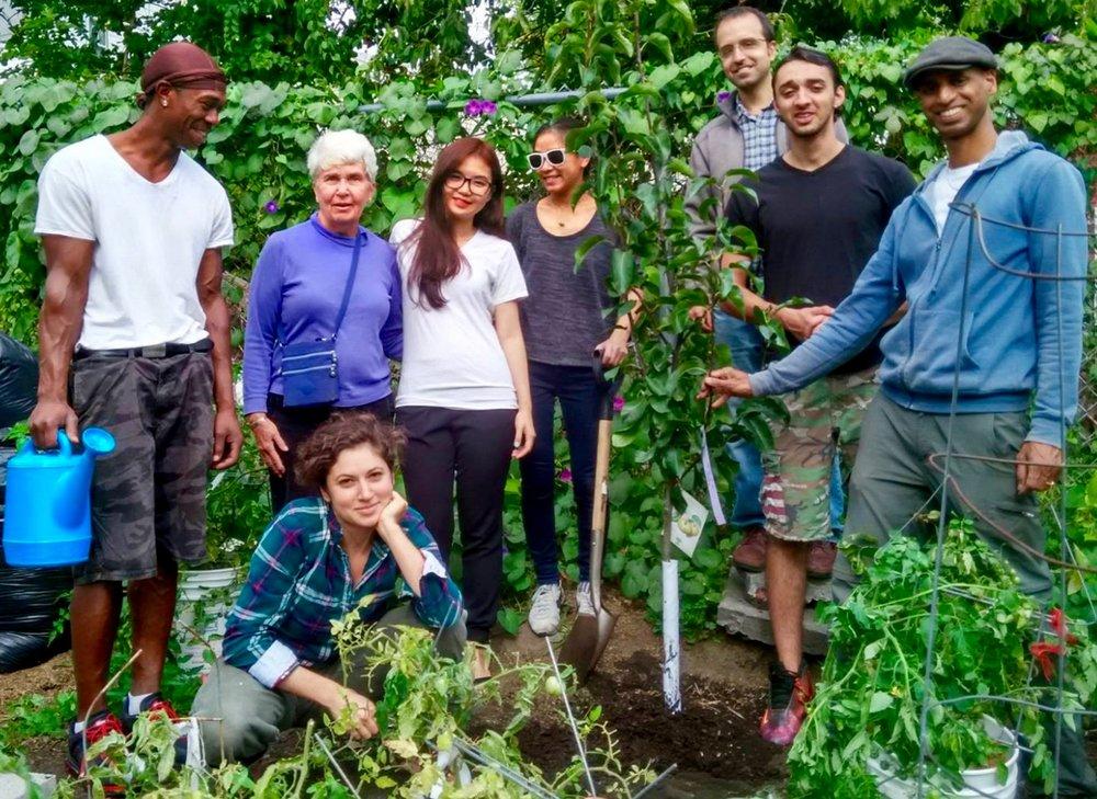 Community Garden Donation