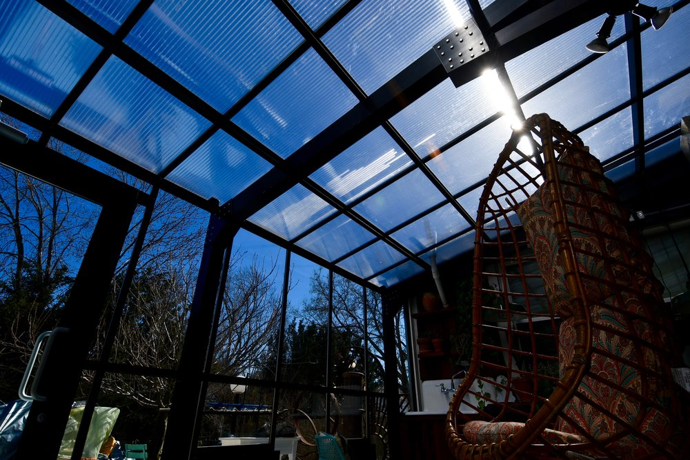 Scope Of Work:   - Home Attached Greenhouse Installation