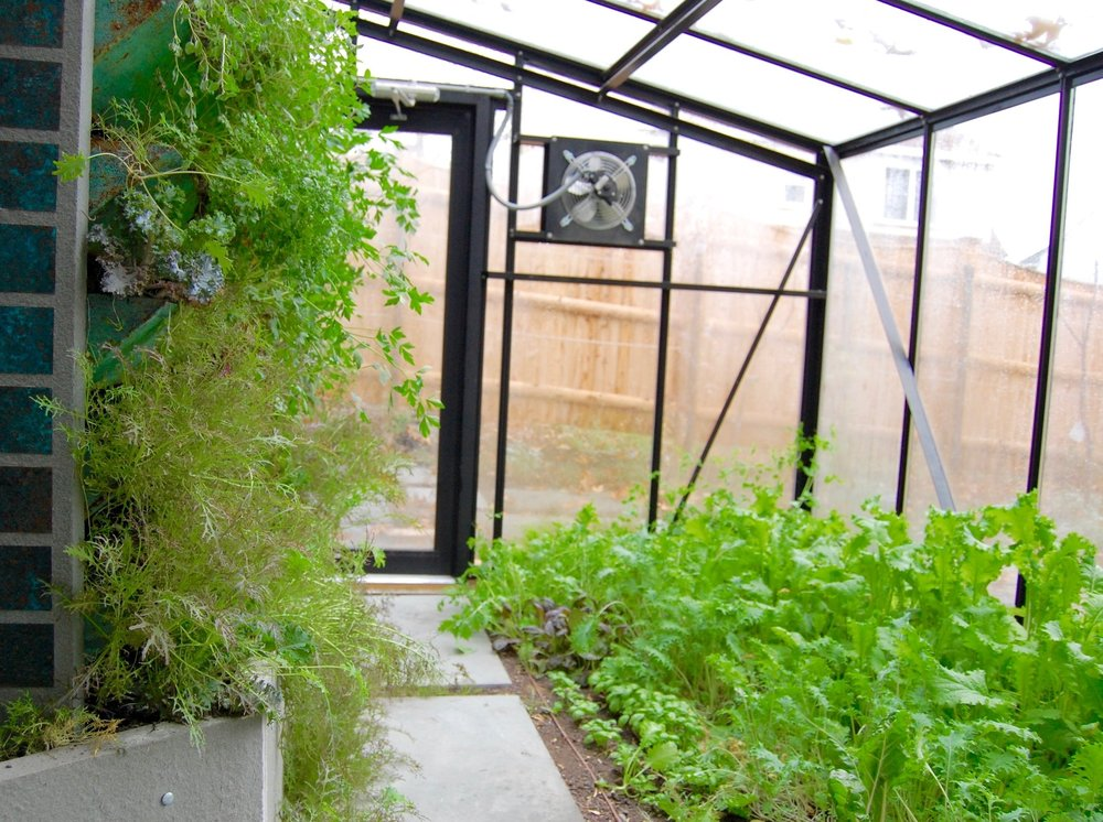 Home-Attached Greenhouse