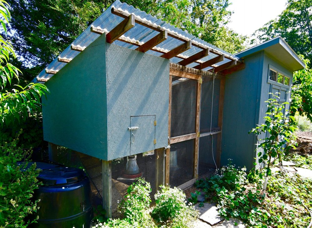 Scope Of Work:  - Custom Design  - Chicken Coop & Shed Installation  - Electric Fence Installation  - Fruit Tree Planting  - Garden Installation