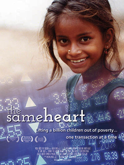 """The Same Heart captures not only the raw nature of global poverty, but the extraordinary potential that exists to DO something about it - and the urgency of taking action now.""  Shareen Hertel, Human Rights Institute, University of Connecticut"