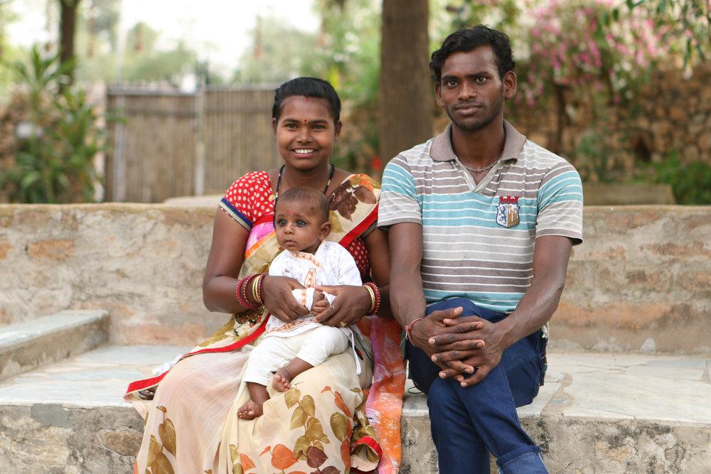 Sita, Bhadram and Baby Shivam © Sophia McCarron