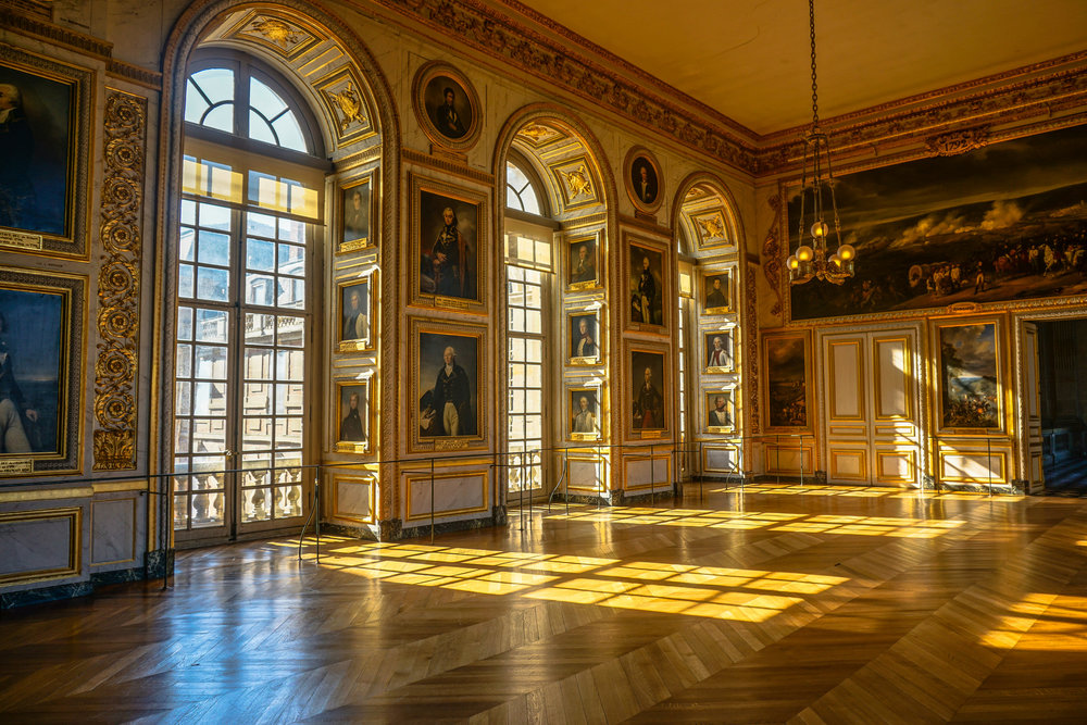 Palace at Versailles, home of Louis XIV of France