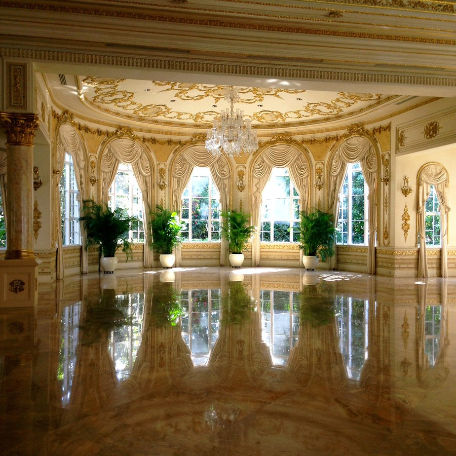 Trump's Florida home and golf club, Mar-A-Lago