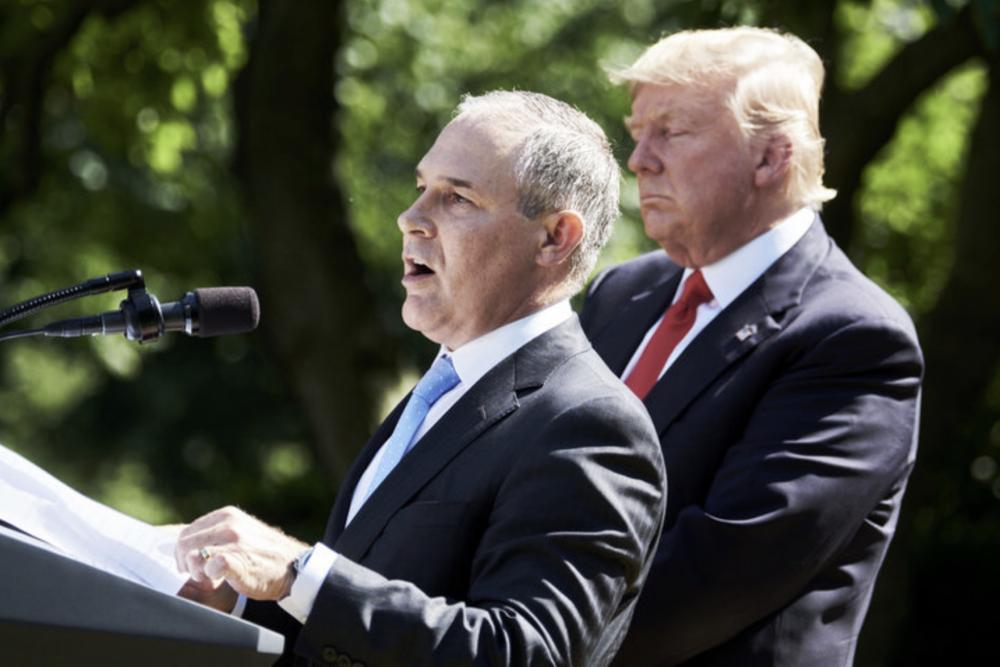 EPA head Scott Pruitt © Bloomberg via Getty Images