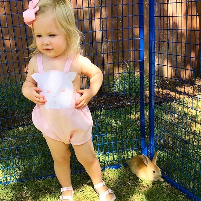Sun's out, bunnies out. October in #Charleston. @smwortley . . .  #pixielilybaby #candidchildhood #charlestonsc #childhoodunplugged #dearphotographer #letthembelittle #littleandbrave #magicofchildhood #motherhoodrising #mytinymoments #shoplocal #shopsmall #simplychildren
