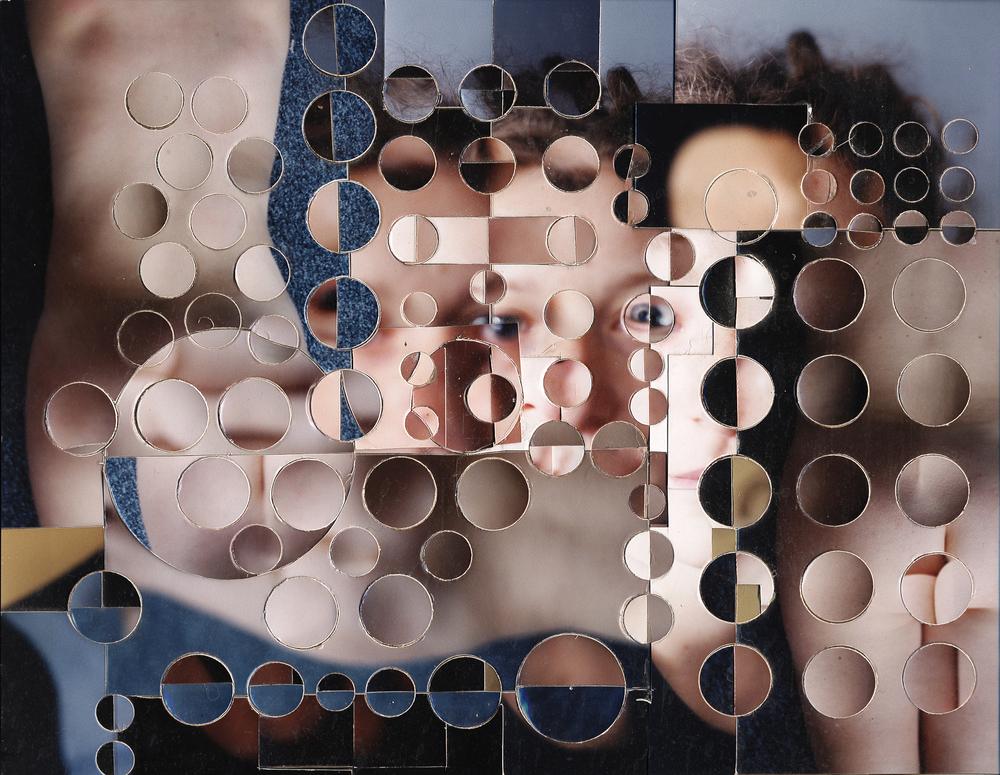 Amélie photogrphie découpée 2002