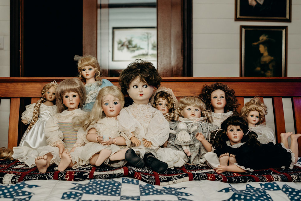 Still from Clare's film  Dolls