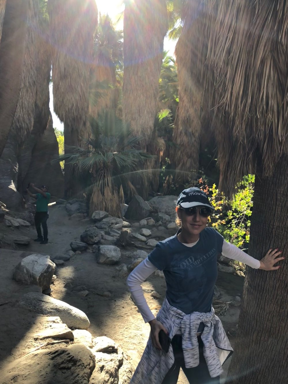 November '18 Retreat - Liz and Nikhil visit a palm spring