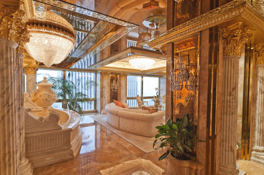 Trump Living Room