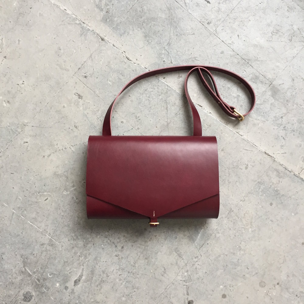 CARV leather shoulder bag