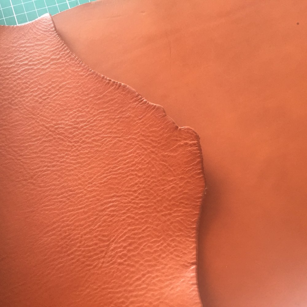 Bespoke leather bag