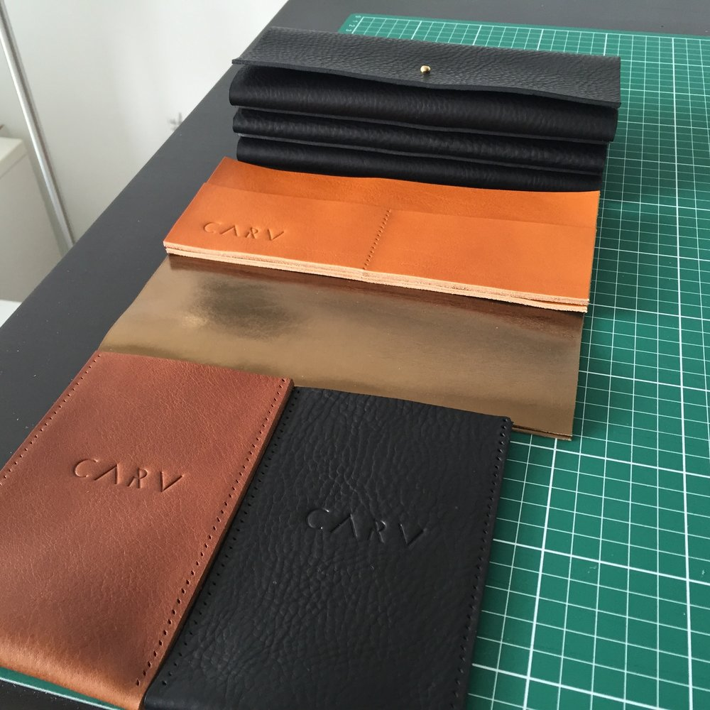 Bespoke leather bag CARV
