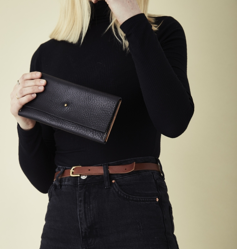 Shop leather purses and wallets