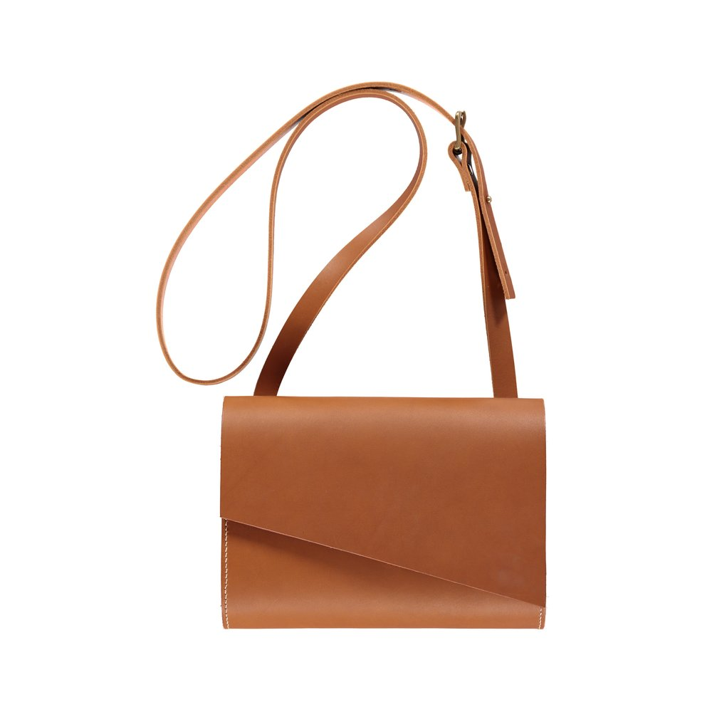 - Pioneer Shoulder Bag Tan - £245