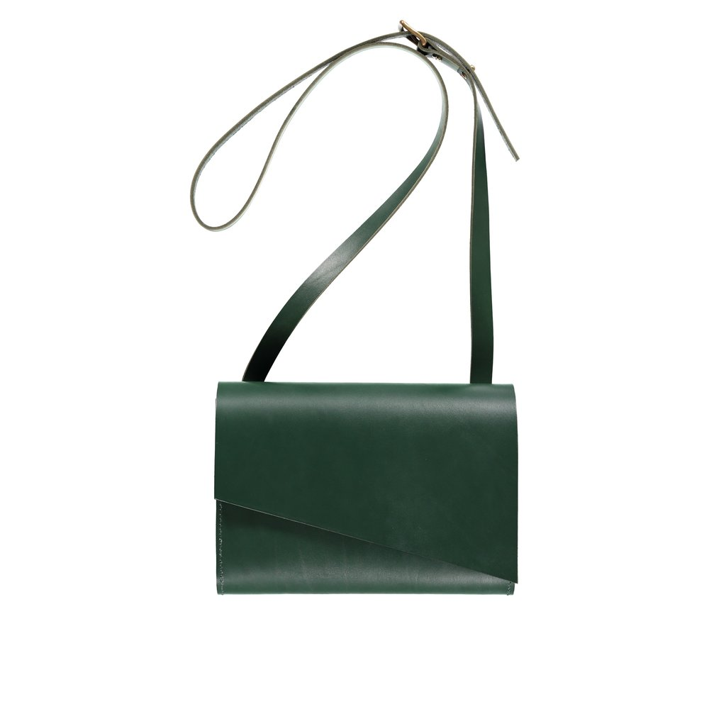 - Pioneer Shoulder Bag Green - £245