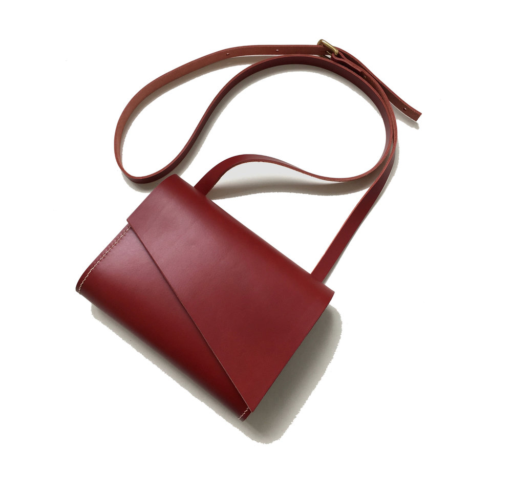 - Pioneer Shoulder Bag Red - £245