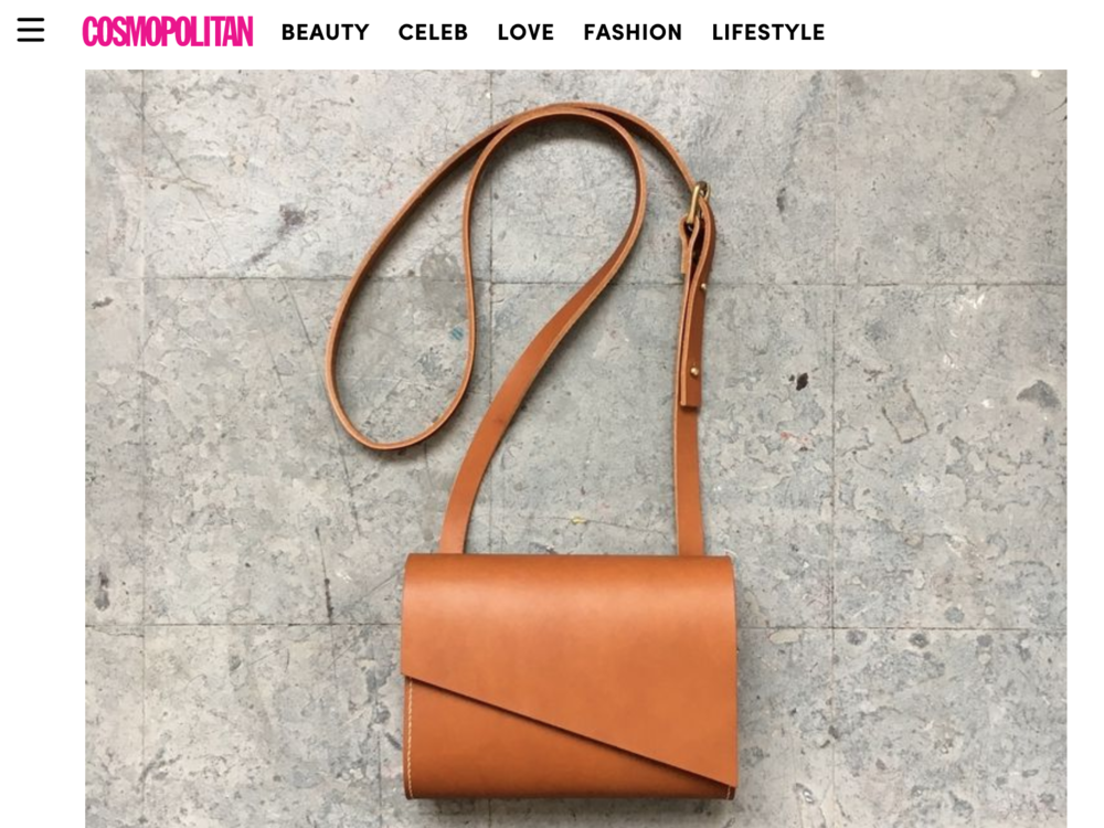 CARV leather bags in Cosmopolitan