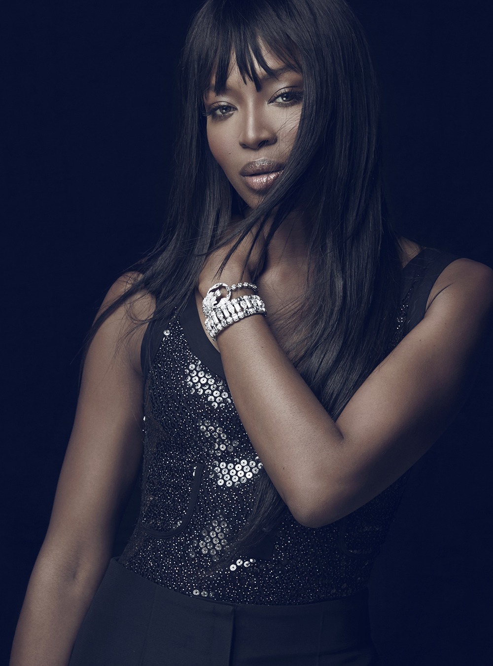NAOMI CAMPBELL for Instyle US