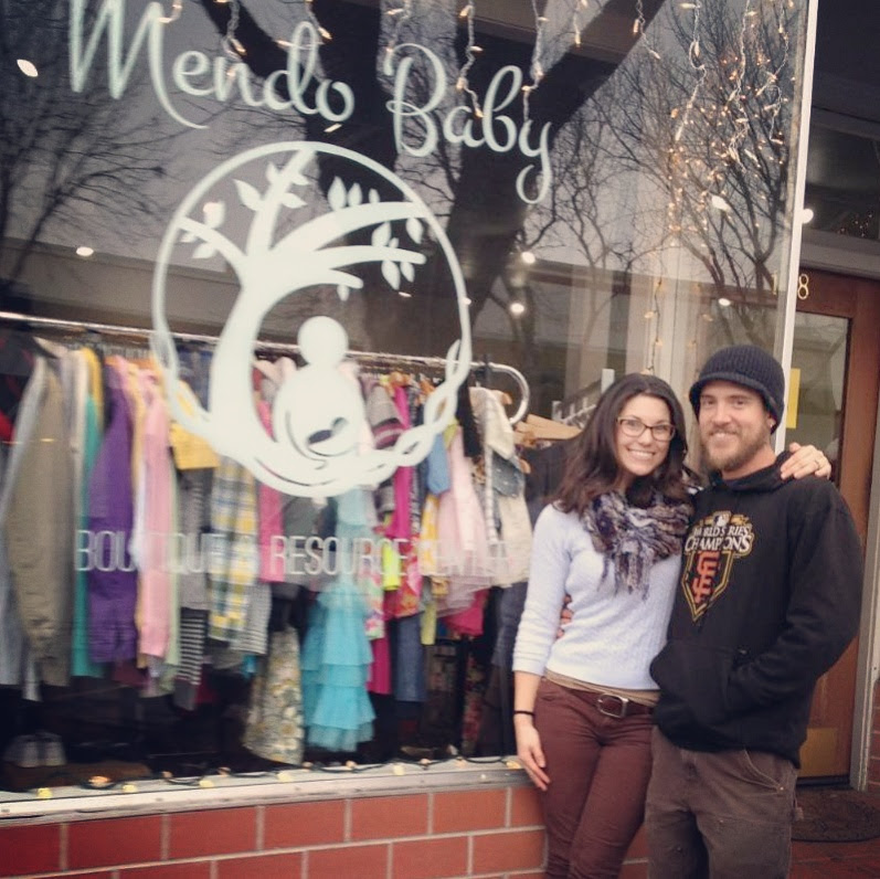 Proud new owners of mendo baby, jasmin and daniel blanc of redwood valley, calif.