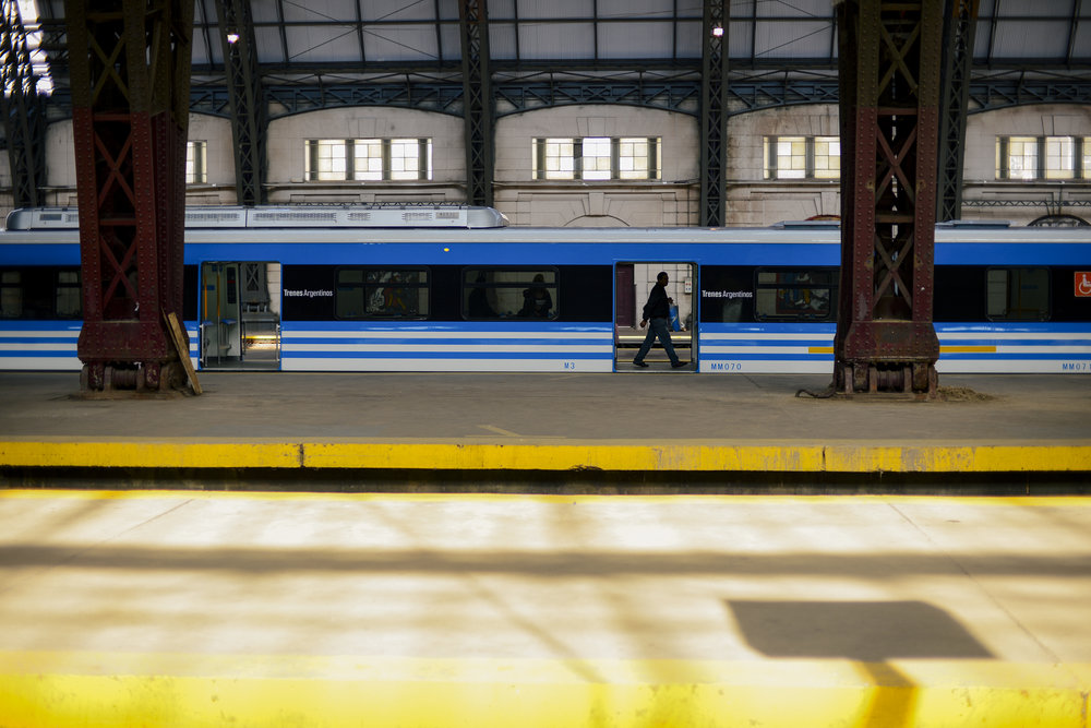 Date: August 16, 2015  Location: Retiro Railways Station, Buenos Aires, Argentina  Camera: Nikon D610  Camera Specs: 1/500 at f2.2, ISO 100