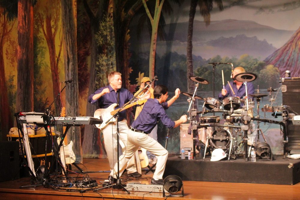 The Rumbles performed in the theater on their final tour after playing for more than 50 years!