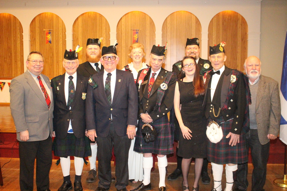 The Knights of St. Andrew Hosted the Evening