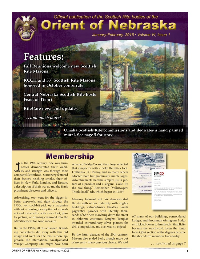 Jan-February 2016 Volume VI, Issue 1