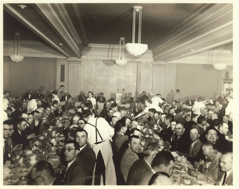 Scottish Rite banquet, c. 1960s
