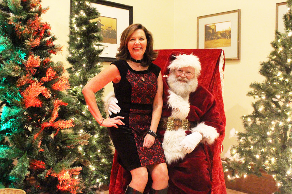Sherry Sederstrom and Santa.JPG