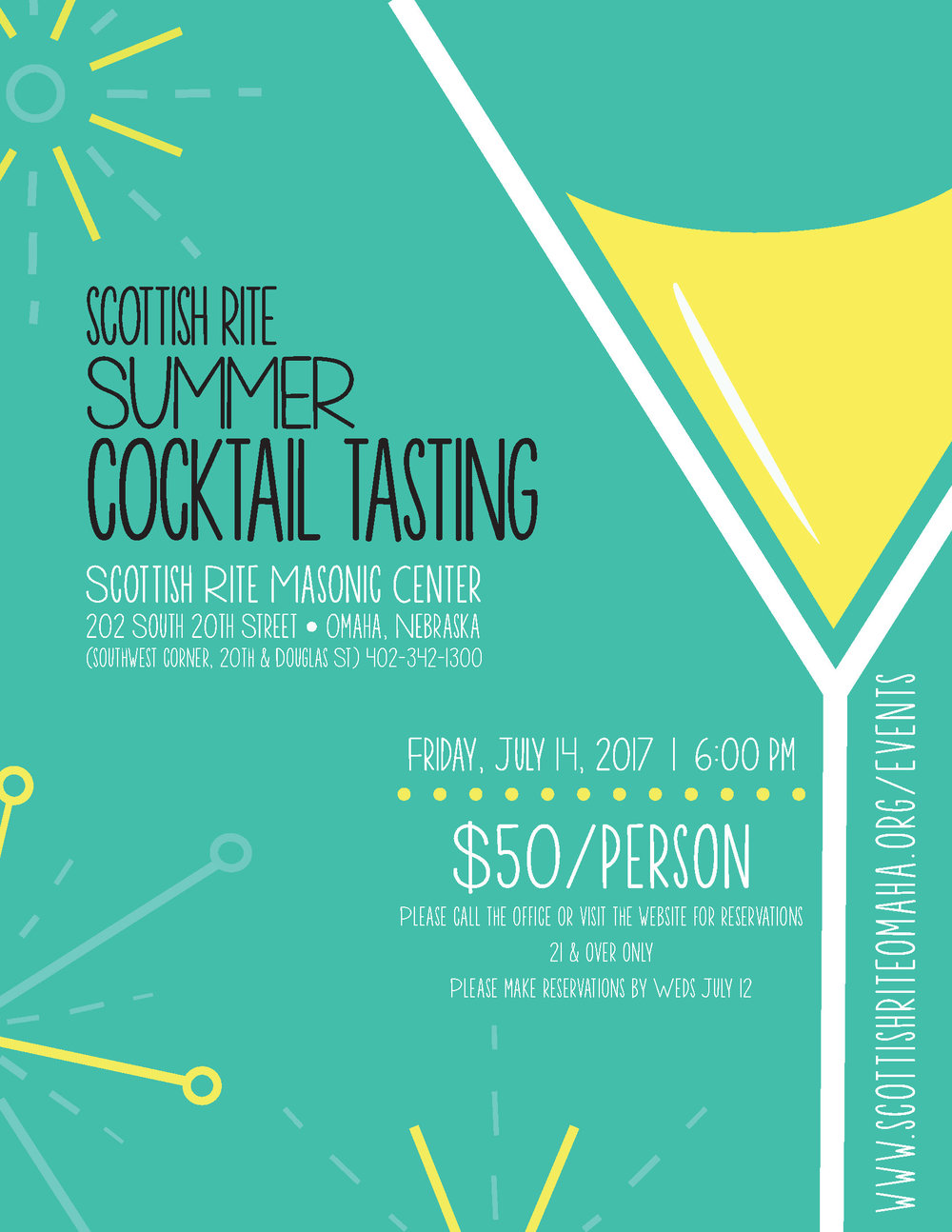 Click above image to download a PDF of the summer cocktail tasting.