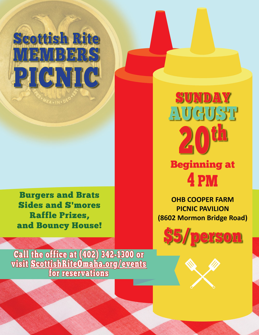 Click above to download a flier for the August picnic.