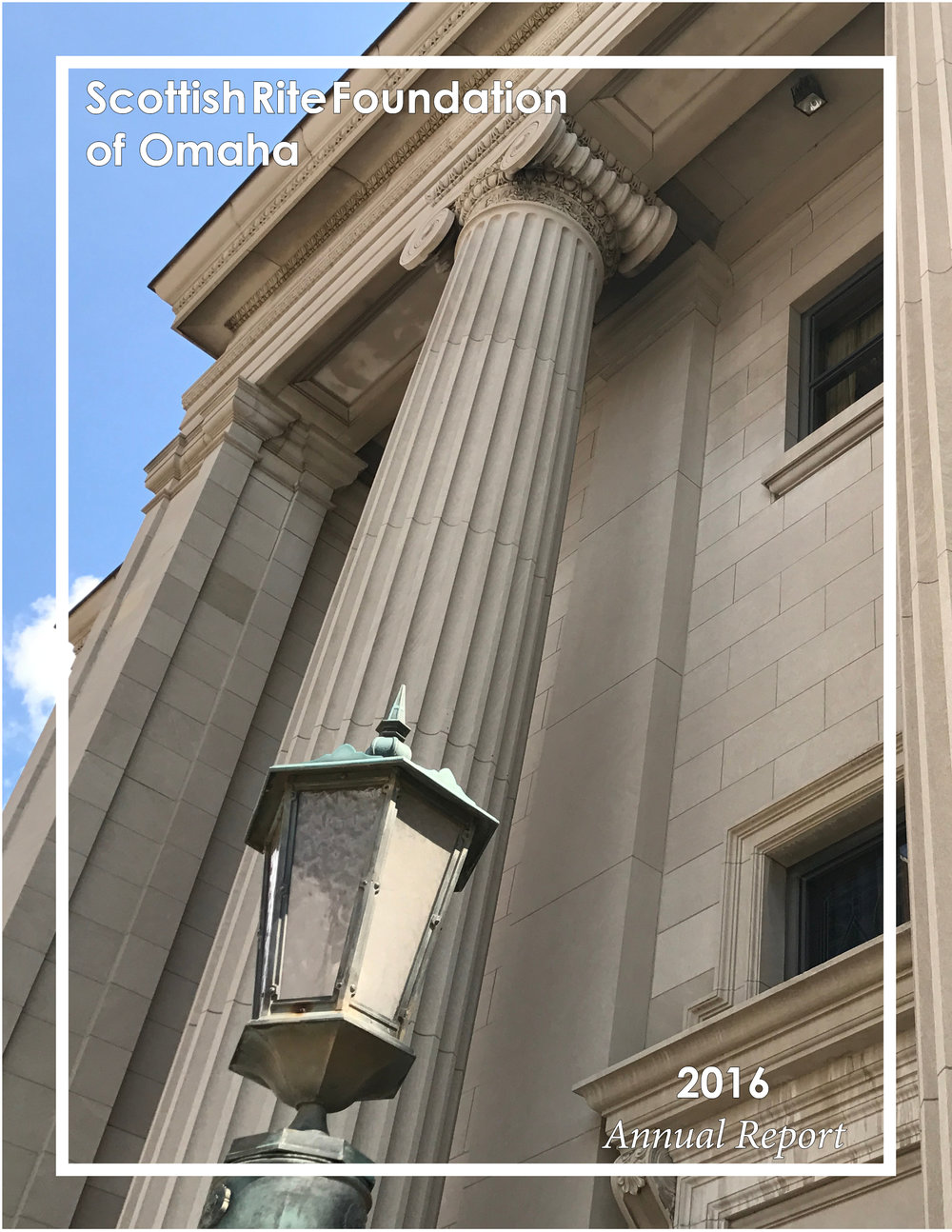 Click the above image to download a copy of the 2016 Scottish Rite Foundation of Omaha Annual Report.