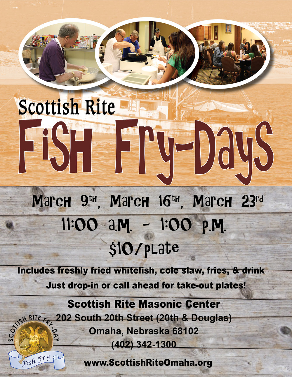 Click on the image to download a PDF of the Fish Fry flier.