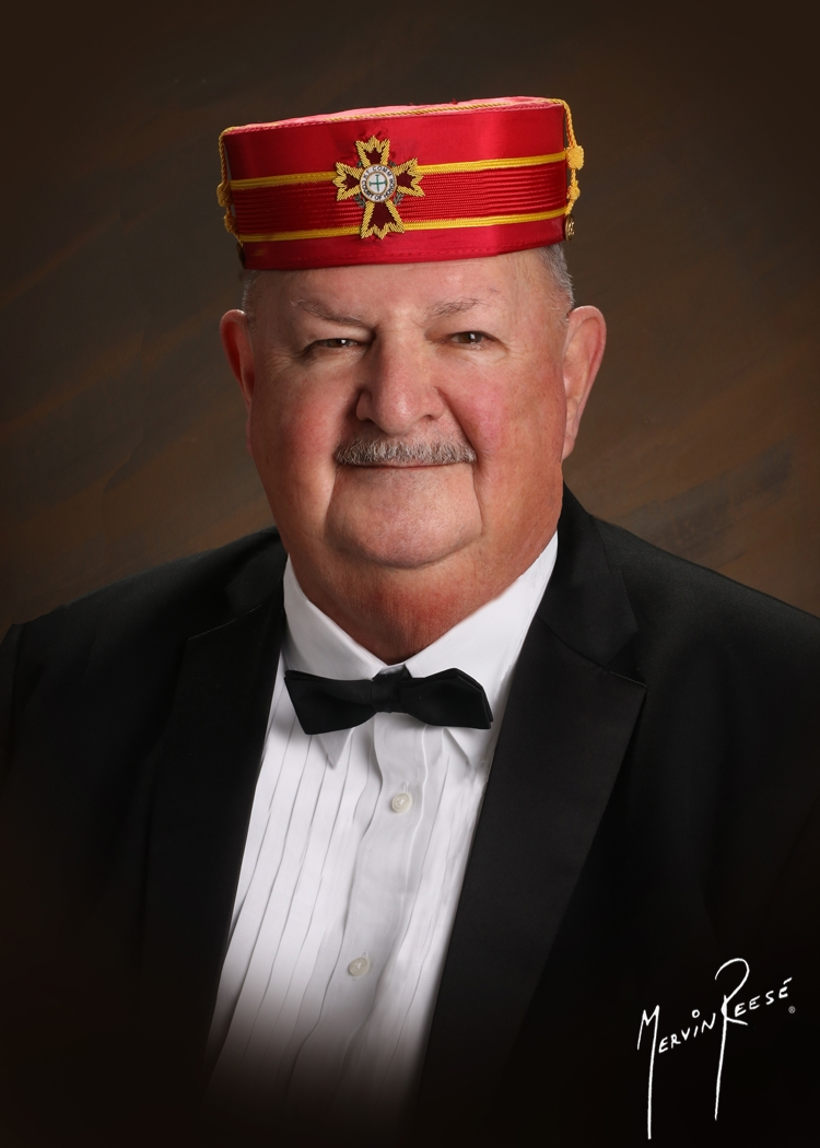 Chuck Sohm served as Venerable Master of the Knights of St. Andrew in 2012.