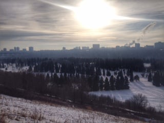 Said goodbye to 2015 in my hometown, Edmonton, Alberta. Photo Cred: Elizabeth Marie