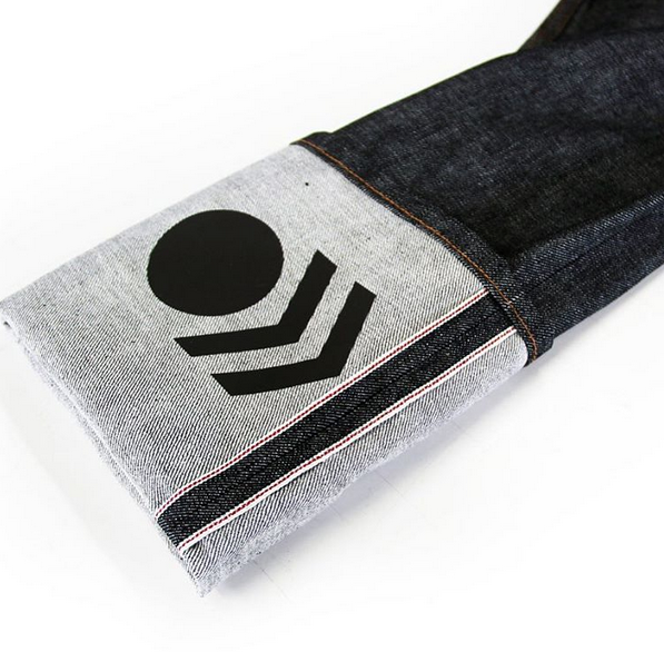 Cycling Jeans Reflective cuff arrow