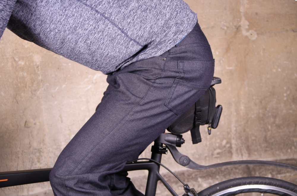 mens cycling jeans, mens commuter jeans